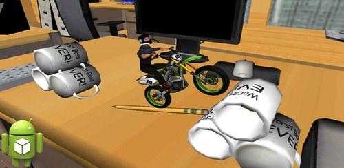 دانلود بازی عبور از موانع با موتور برای اندروید Dirt Bike: 3D Racing v1.02